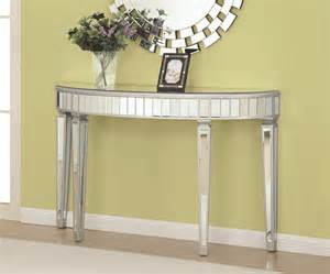 Furniture Warehouse Los Angeles by Coaster 950183 Silver Glass Console Table Steal A Sofa