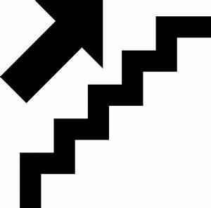 Upstairs Icon Clip Art at Clker.com - vector clip art ...