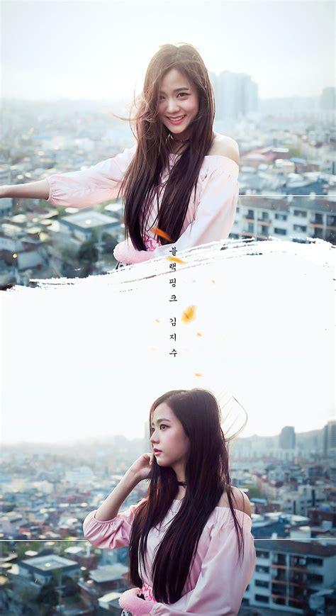 Lisa, lisa (blackpink), blonde, pink coat, city. Free download Jisoo Blackpink wallpaperlockscreen Wallpapers di 2019 1080x1980 for your ...