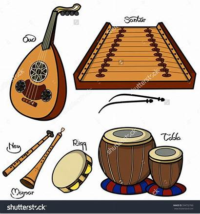 Musical Arabic Traditional Instruments Instrument Gamelan Clipart