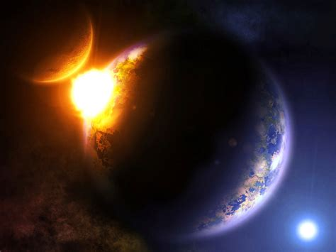 Space Science Fiction Planets