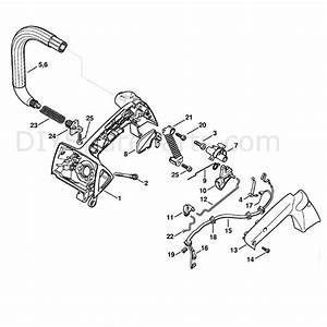 Stihl Ms 192 Chainsaw  Ms192tc  Parts Diagram  Handle Housing