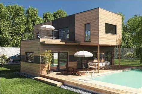 maison cube en bois construction maison bois maisons qualitis construction de maison haut de gamme sur mesure d