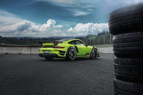 Techart Unveils A Green Beast The Porsche 911 Turbo