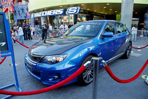 5. Subaru The Subaru Impreza WRX joined Paul Walker during