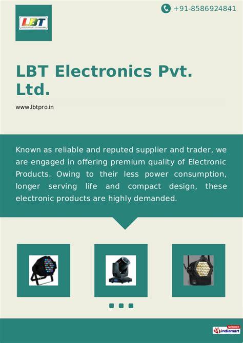 Lbt Electronics Pvt Ltd