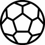 Icon Football Soccer Svg Ball Onlinewebfonts Clip