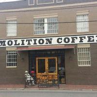 Read reviews from demolition coffee at 215 east bank street in petersburg 23803 from trusted petersburg restaurant reviewers. Demolition Coffee - Petersburg, VA