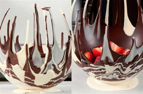 how to make chocolate bowls how to make a chocolate bowl goodtoknow