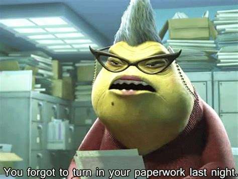 monsters inc slug lady quotes