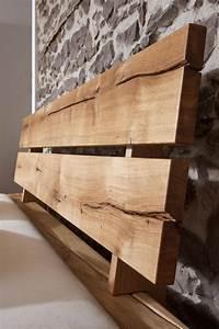 Bett Massivholz 180x200 : massivholz balkenbett 180x200 bett rustikal doppelbett wildeiche ge lt ~ Frokenaadalensverden.com Haus und Dekorationen
