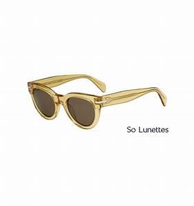 Lunette De Soleil Verre Transparent : lunettes de soleil c line femme cl 41040 s 521 a6 monture ocre transparente verres marron ~ Melissatoandfro.com Idées de Décoration
