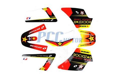 kit deco 50cc rockstar rockstar graphics decal stickers kit pw50 pw 50cc m de41 ebay