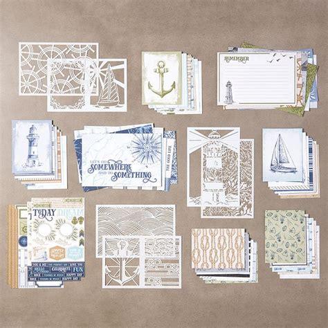 sail  memories  card pack  stampin