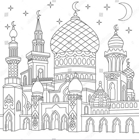 Buy Mewarnai Gambar Masjid Print Posters On Wallpart