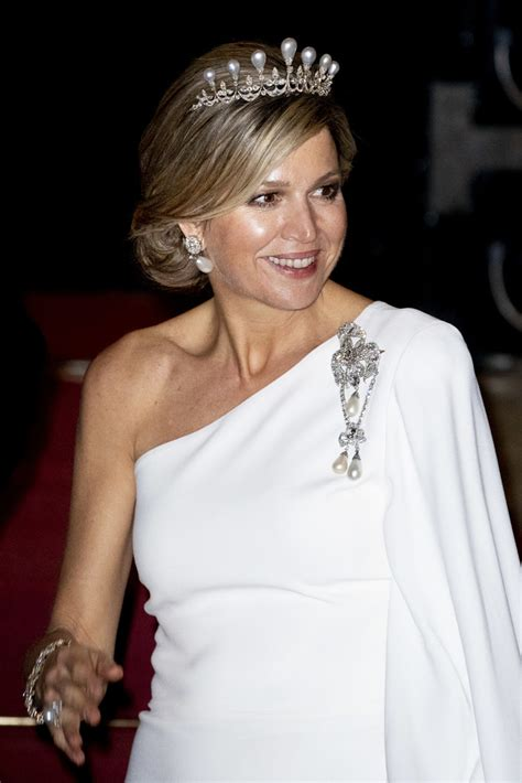 queen maxima queen maxima  dutch royal family attends  gala diner  corps