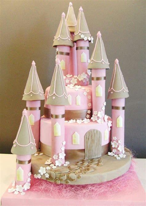 Castillo de princesas   pasteles fantasticos   Pinterest