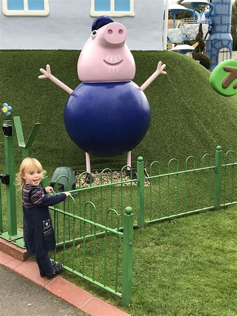 discovering the joys of peppa pig world daily mail online