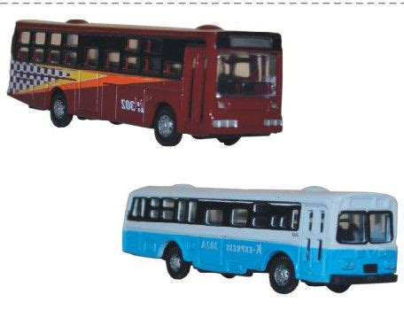 Flocking Machine For Christmas Trees by Alloy Bus Without Light Miniature Model Scale Cars