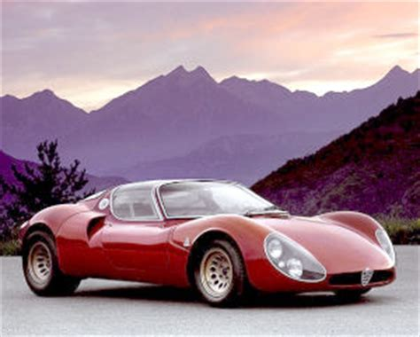 alfa romeo  stradale tipo  specifications
