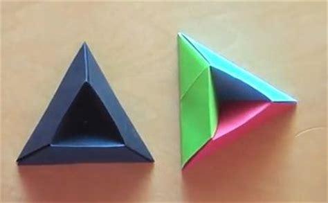 Triangles Origami Diagrams Pinterest