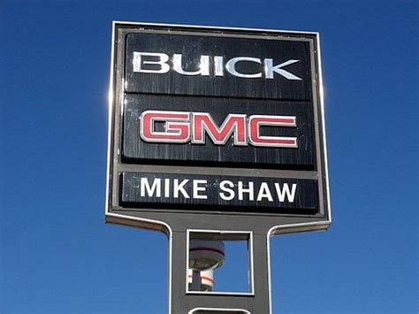 Mike Buick Gmc by Mike Shaw Buick Gmc Truck Colorado Springs Co 80906 Car