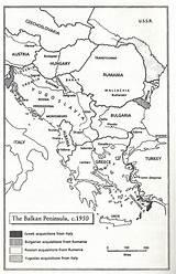 Peninsula Coloring Balkan Pages Template sketch template
