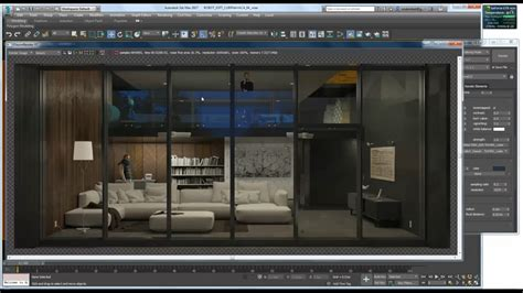 tone mapping  fstorm render  ds max cg tutorial