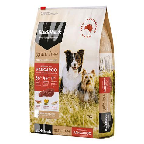 Zignature kangaroo formula dog food review. Black Hawk Dog Food Grain Free Kangaroo 7kg Animal Pet ...