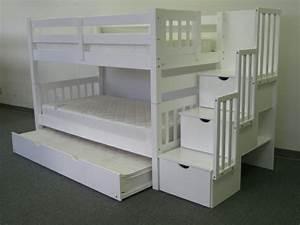 Hochbett 140x200 Weiß : w hlen sie das richtige hochbett mit treppe f rs kinderzimmer ~ Indierocktalk.com Haus und Dekorationen