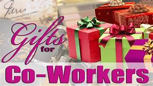 HOLIDAY GIFT IDEAS FOR YOUR CO-WORKERS & BOSS!!!! 🎁 - YouTube