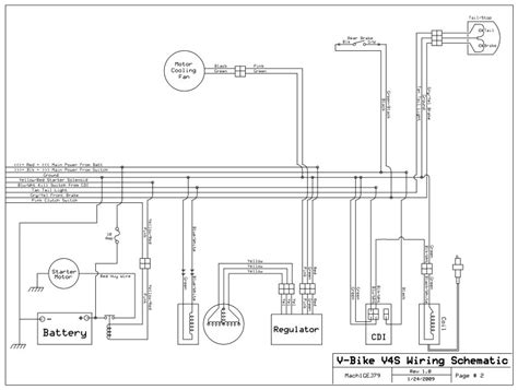 Need Wiring Diagram For Vbike Atvconnection