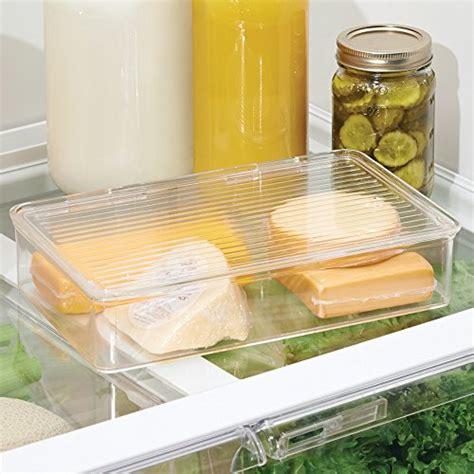 clear kitchen storage containers interdesign pantry refrigerator freezer storage container 5476