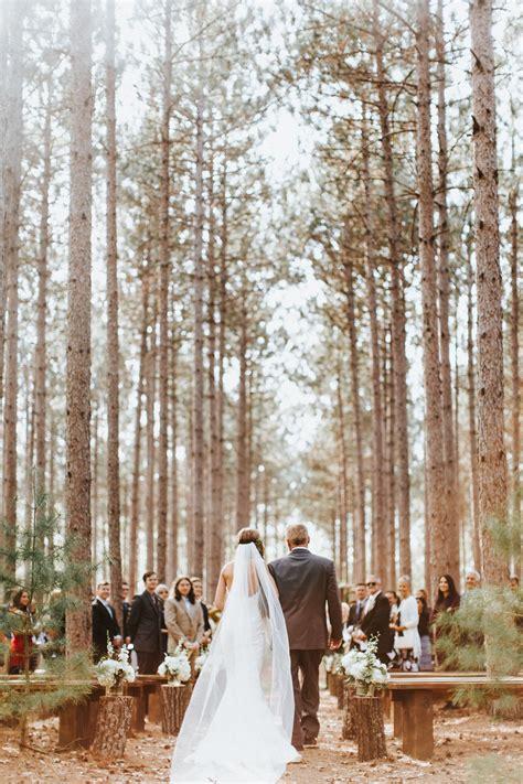 wisconsin wedding venue wedding   woods outdoor