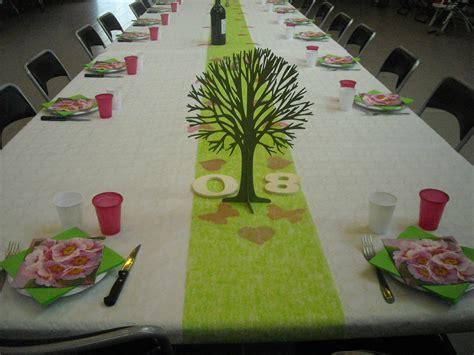 decoration table anniversaire  ans femme