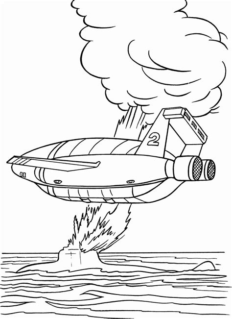Coloring Sheets by Thunderbirds Coloring Pages