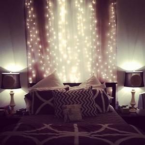 Fairy, Lights, In, The, Bedroom