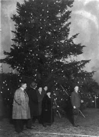 who introfuced christmas trees to britisn 2nd industrial revolution inventions timeline timetoast timelines