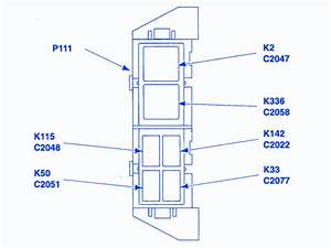 2004 F350 Engine Compartment Fuse Panel Diagram
