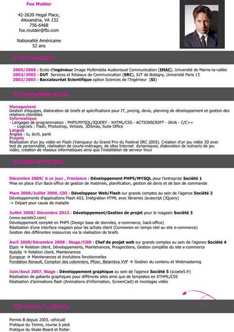 Bon Cv Exemple by Les 25 Meilleures Id 233 Es De La Cat 233 Gorie Exemple Cv Sur