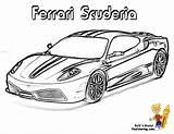 Ferrari Coloring Pages Colouring Cars Race Boys Rally Heart Scuderia Auto Kleurplaat Pounding Supercar Books Sheets Printable Testarossa Library Clipart sketch template
