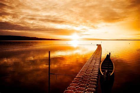 photo canada sunset dusk beautiful  image