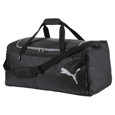 Disrupting the game since 1948, puma is out to set and smash goals in its bid to be the fastest sports brand in the world. Fundamentals Sports Bags Large | 10 - Black | Puma