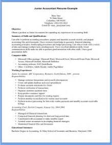 accounting skills on resume 10 accountant resume exle writing resume sle