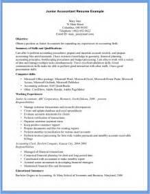 resume skills for accountants 10 accountant resume exle writing resume sle