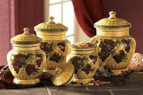 grape kitchen canisters canisters and so much more on this site home