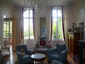 rdc cuisine equipee sam salon bureaux superbe With wonderful photo de jardin de maison 19 deco entree appartement