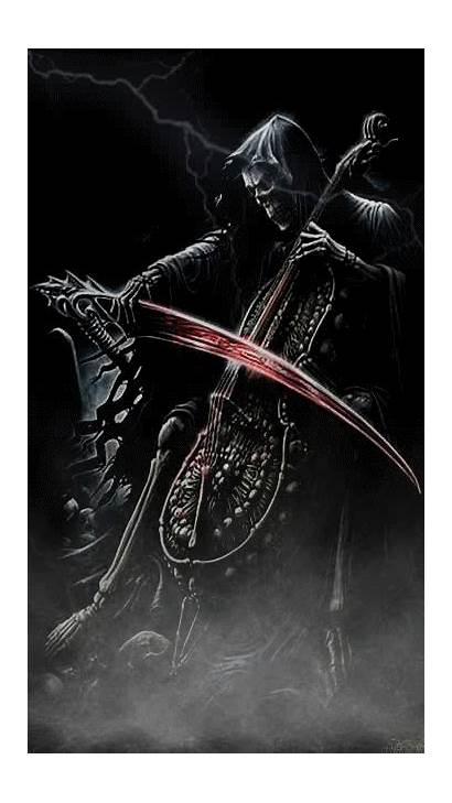 Dark Reaper Grim Fantasy Gothic Sensenmann Gifs