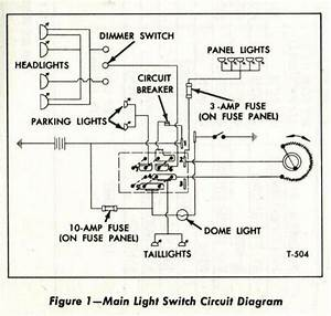 69 C10 Headlights Switch Diagram