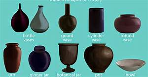 Jess The Miscellaneous: Pottery and Vase Shapes